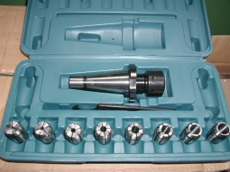 Spannzangensatz 8-teilig  4 - 16 mm  ISO 40
