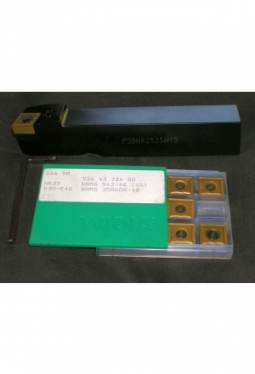Klemmdrehhalter PSBNR2525M16 inkl. 20 Widia Wendeplatten