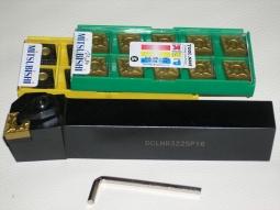 Klemmdrehhalter DCLNR3225P16 inkl. 20 Mitsubishi Wendeplatten_1