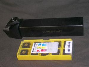 Klemmdrehhalter DSRNR2525M12 inkl. 10 Widia Wendeplatten_1