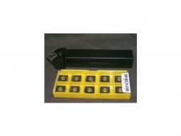 Klemmdrehhalter PSSNR2525M15 inkl. 20 Mitsunbishi Wendeplatten SNMG150616-GH