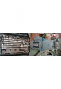 Getriebemotor 0,37kW, 35 U/min