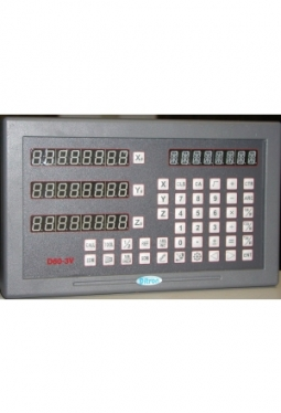 DITRON D60-3V Positionsanzeige Digitalanzeige inkl. Maßstäbe DC11- 220/500/750 mm
