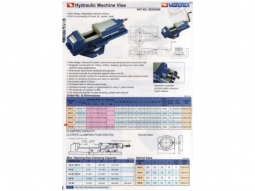 Schraubstock Hydraulikschraubstock VH5 NEU