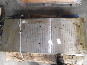 Magnetplatte  1200 x 500 x 95 mm unbenutzt