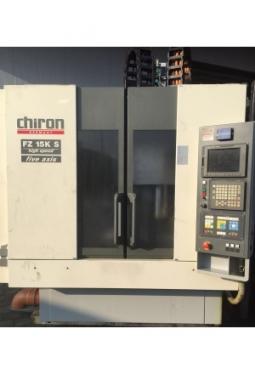 Chiron FZ 15K S Bearbeitungszentrum 5 Achsen