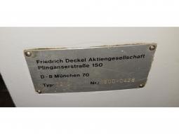 DECKEL Teilapparat Typ 2212  Nr. 1800-0428