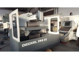 DECKEL FP5CC Dialog 11 Fräsmaschine Klappkopf