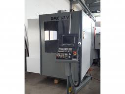 Deckel DMC 63V 1998  Siemens 810D