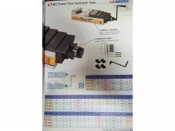 VERTEX Hydraulikschraubstock Hochdruckspanner VQC125H NEU!