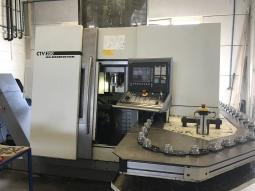 Gildemeister CTV 250 Vertikaldrehmaschine